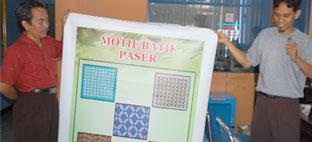 motif batik kabupaten paser