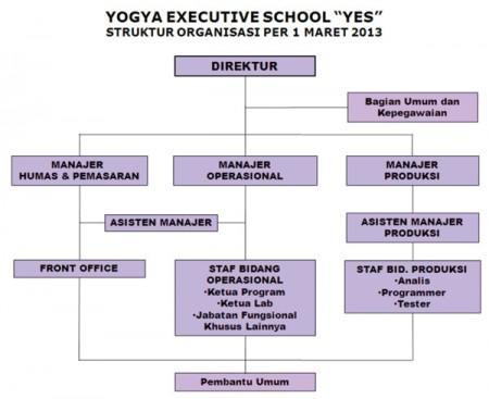 Stuktur Organisasi YES 2013