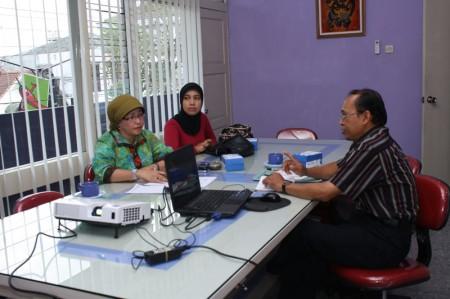 Pelatihan Komputerisasi Kearsipan dari Perpustakaan Daerah Kabupaten Siak