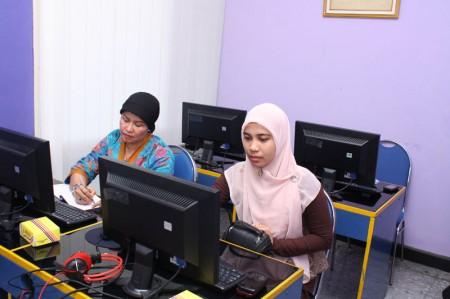 Pelatihan Kearsipan Elektronis dari Kantor Perpustakaan dan Arsip Kabupaten Siak
