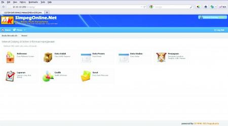 Aplikasi Simpeg Online [dot] Net By MMK-Yesjogja