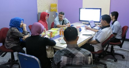 Diskusi tentang Tata Naskah Kepegawaian Elektronik