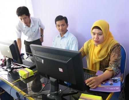 Pelatihan Tata Naskah Kepegawaian Elektronik
