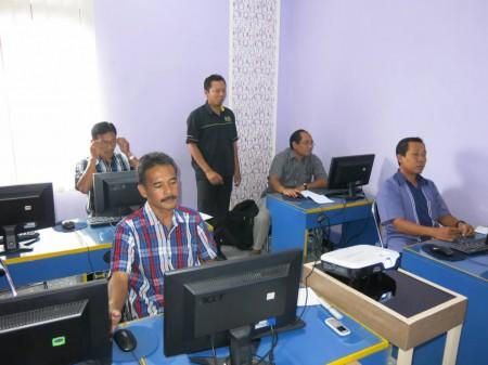 Pelatihan Aplikasi Perkantoran oleh Pusdiklat Migas Cepu di Yogyakarta