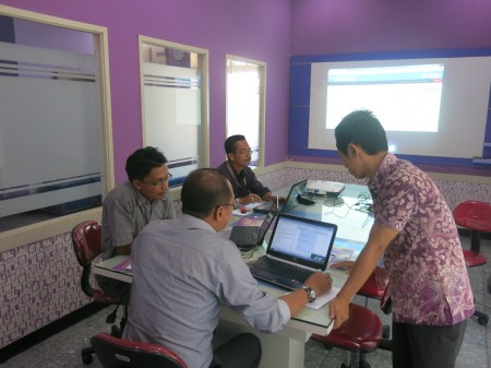 Peserta Pelatihan SIMJAGA - Dinas Pekerjaan Umum Provinsi Kalimantan Utara