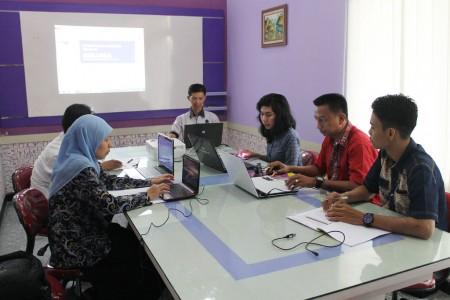 Pelatihan Instansi Berbasis Aplikasi SIMJAGA Gel. II - RSUD Sangatta dan BAPPEDA Kota Tanjung Pinang