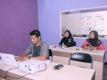 Pelatihan Sistem Informasi Manajemen Penjagaan Pegawai