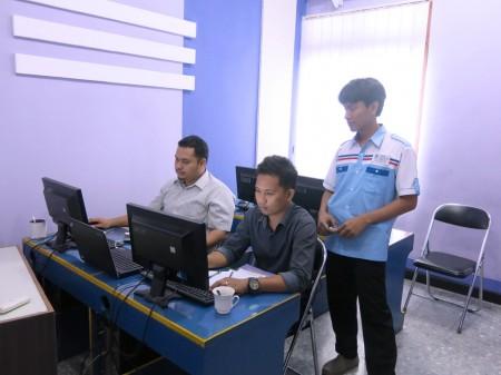 Peserta Pelatihan Intermediate Web Design