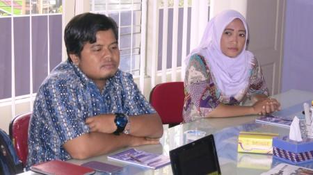 Peserta Pelatihan Jurnalistik Web dari BAPPEDA Kabupaten Bintan
