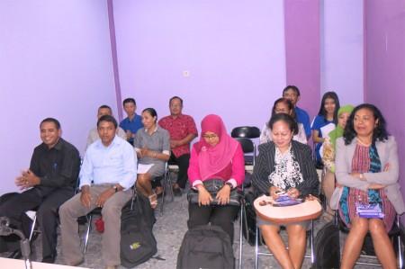 Peserta pelatihan dari Timor Leste
