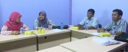 Pelatihan Keuangan Bendahara dari Bapsi Universitas Diponegoro