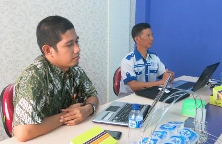 Pelatihan Manajemen Konten dan Jurnalistik Web