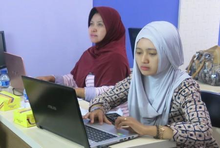 Peserta Pelatihan Web Programming dari Politeknik Negeri Jember