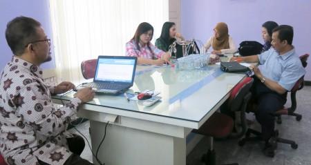 Pelatihan Penyusunan RBA dari Program Pasca Sarjana Universitas Diponegoro