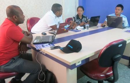 Peserta Pelatihan Web Desain Tingkat Menengah