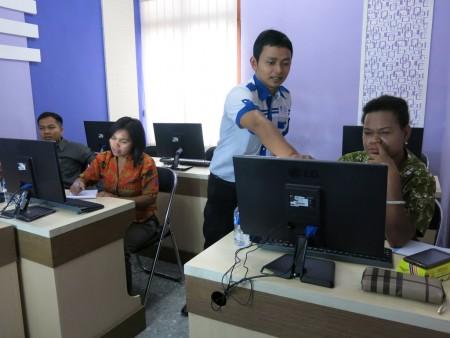 Pelatihan Kearsipan Elektronik e - Filing di YES Jogja