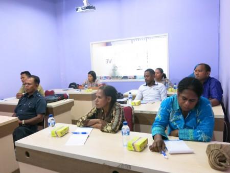 Pelatihan Keprotokolan dari Sekretariat Daerah Kabupaten Boven Digoel