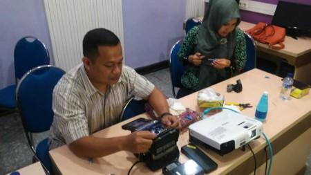 Pelatihan Pengelolaan Kabel Fiber Optik