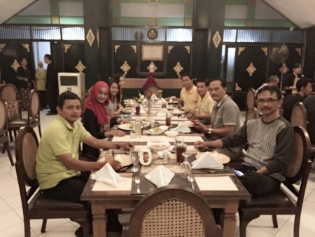 Malam Keakraban Peserta Pelatihan Desain Grafis dan Multimedia Bappeda Kota Banjarbaru