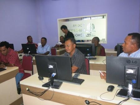 Pelatihan Jurnalistik Humas Setda Kabupaten Yahukimo