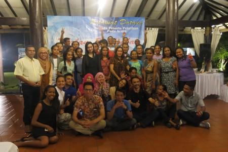 Malam Keakraban Pelatihan Pengembangan Sumber Daya Manusia dan Teknologi Informasi SEM Timor Leste