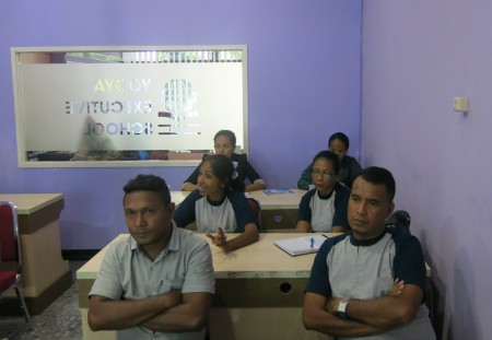 Pelatihan Akuntabilitas Pegawai dari MSS Republic Democratic Timor Leste