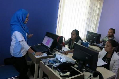 Pelatihan Desain Grafis dan Video Editing SEM Republic Democratic Timor Leste