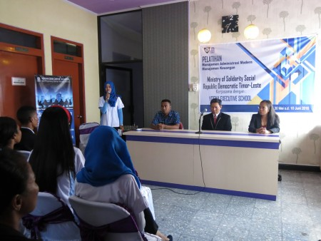 Pelatihan Pengembangan Sumber Daya Manusia (SDM) Timor Leste