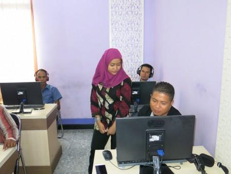 Pelatihan Desain Grafis (Layout) dari Ministry Of Justice Republic Democratic Timor-Leste