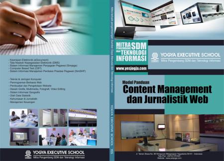 Pelatihan Teknologi Informasi Jurnalistik Web dan Manajemen Konten Desember 2017