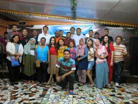 "Acara malam keakraban peserta Pelatihan Pengembangan SDM dan Teknologi Informasi Yogya Executive School ""YES"""