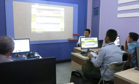 Pelatihan Pengelolaan Website Dinas Ketahanan Pangan Kabupaten Bintan