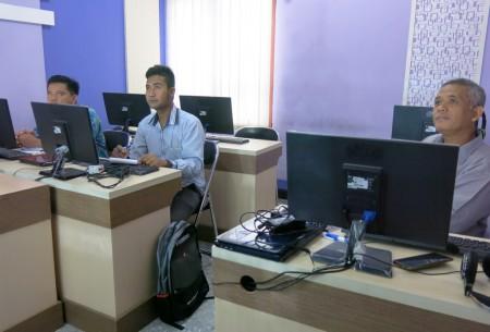 Pelatihan Teknologi Informasi Pengelolaan Website Pemerintah