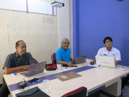 Pelatihan Web Programming Tingkat Dasar Balai Riset dan Standardisasi Industri Kementerian Perindustrian Kota Pontianak