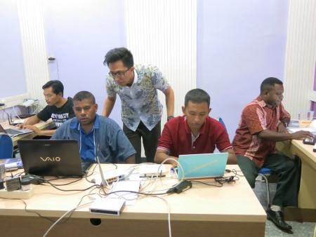 Pelatihan Jaringan Komputer Tingkat Dasar Badan Kepegawaian Daerah (BKD) Provinsi Papua Barat