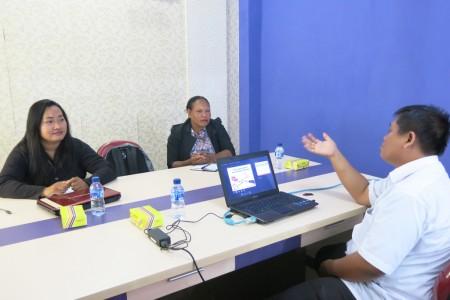 Pelatihan Pengembangan SDM Dinas Pemberdayaan Perempuan dan Perlindungan Anak Kabupaten Boven Digoel