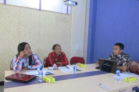 Pelatihan Penyusunan LAKIP & SOP Dinas Pemberdayaan Perempuan & Perlindungan Anak Kab Boven Digoel