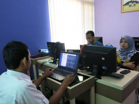 Pelatihan Teknologi Informasi Dinas Pariwisata (DISPAR) Kabupaten Belitung