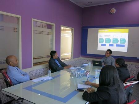 Pelatihan Pengembangan SDM Ministério das Finanças República Democrática de Timor-Leste Mei 2017