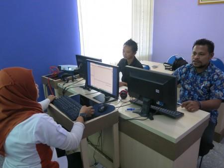 Pelatihan Video Editing Bagian Humas Sekretariat Daerah Kabupaten Asmat Provinsi Papua Mei 2017