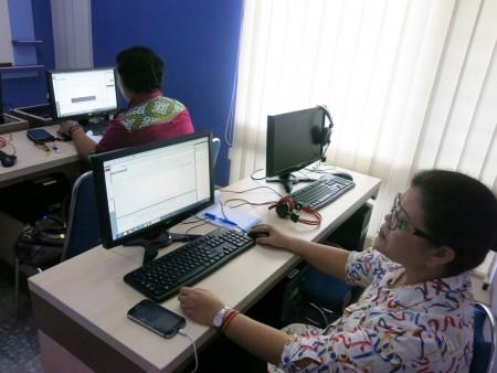 Pelatihan Desain Multimedia dari Dinas Komunikasi dan Informatika (DISKOMINFO) Kabupaten Merauke Juni 2017