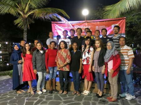 "Acara Malam Keakraban Peserta Pelatihan e-Government, Teknologi Informasi dan Pengembangan SDM Yogya Executive School ""YES"" Agustus 2017"