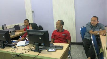 Pelatihan Jaringan Komputer Kabupaten Belitung September 2017