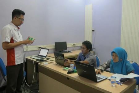 Pelatihan Jaringan Komputer Tingkat Dasar Badan Perencanaan Pembangunan Daerah (BAPPEDA) Kabupaten Belitung September 2017