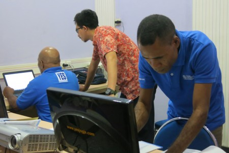 Pelatihan Administrator Jaringan Linux Tingkat Dasar Oktober 2017
