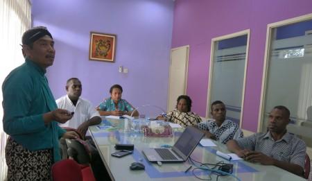 Pelatihan Keprotokolan Sekretariat Daerah (SETDA) Kabupaten Boven Digoel Provinsi Papua Oktober 2017