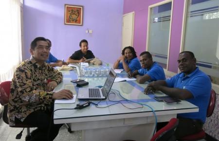Pelatihan Keprotokolan dan Master of Ceremony Sekretariat Daerah (SETDA) Kabupaten Boven Digoel Provinsi Papua Oktober 2017