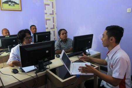 Pelatihan Penyusunan Laporan Akuntabilitas Kinerja Instansi Pemerintah (LAKIP) Dinas Perpustakaan Dan Kearsipan Daerah Kabupaten Boven Digoel Oktober 2017