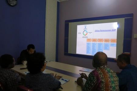 Pelatihan Standar Operasi Prosedur (SOP) Badan Kesatuan Bangsa Dan Politik Kabupaten Boven Digoel Oktober 2017