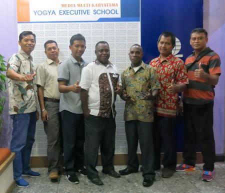 Pelatihan Teknologi Informasi BKD Provinsi Papua Barat September 2017